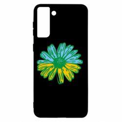 Чехол для Samsung S21+ Українська квітка