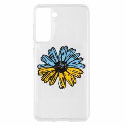 Чехол для Samsung S21 Українська квітка