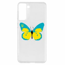 Чохол для Samsung S21+ Український метелик