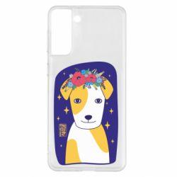 Чохол для Samsung S21+ Український пес