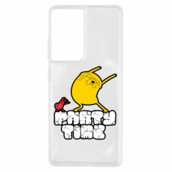 Чохол для Samsung S21 Ultra Adventure time 2