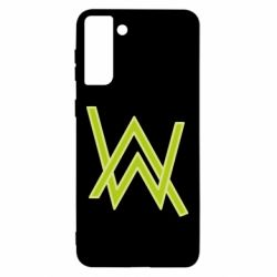 Чехол для Samsung S21 Ultra Alan Walker neon logo