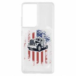 Чохол для Samsung S21 Ultra American Truck