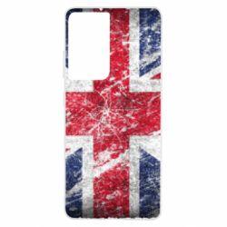 Чехол для Samsung S21 Ultra Англия