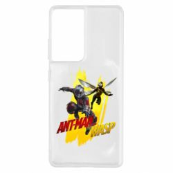 Чохол для Samsung S21 Ultra Ant - Man and Wasp