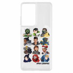 Чохол для Samsung S21 Ultra Apex legends heroes
