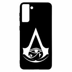 Чохол для Samsung S21 Ultra Assassin's Creed Origins logo