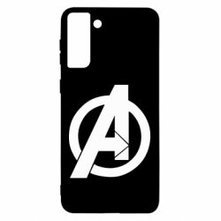 Чохол для Samsung S21 Ultra Avengers logo
