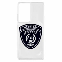 Чехол для Samsung S21 Ultra Avengers Marvel badge
