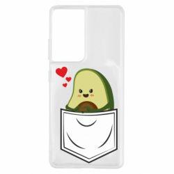 Чехол для Samsung S21 Ultra Avocado in your pocket