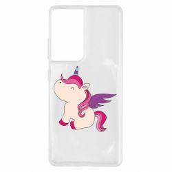 Чохол для Samsung S21 Ultra Baby unicorn
