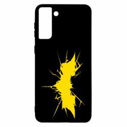Чохол для Samsung S21 Ultra Batman cracks