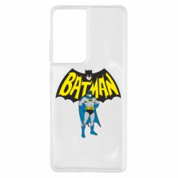 Чехол для Samsung S21 Ultra Batman Hero