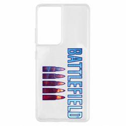 Чохол для Samsung S21 Ultra Battlefield 5 bullets