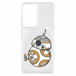 Чехол для Samsung S21 Ultra BB-8 Like