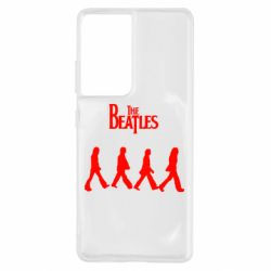 Чохол для Samsung S21 Ultra Beatles Group