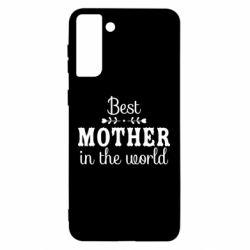 Чохол для Samsung S21 Ultra Best mother in the world
