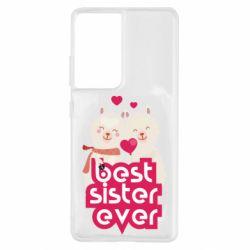 Чохол для Samsung S21 Ultra Best sister ever
