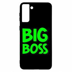 Чохол для Samsung S21 Ultra Big Boss