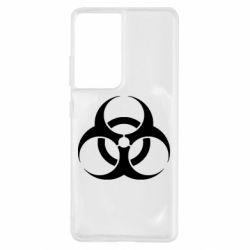 Чохол для Samsung S21 Ultra biohazard