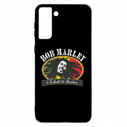 Чехол для Samsung S21 Ultra Bob Marley A Tribute To Freedom
