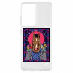 Чехол для Samsung S21 Ultra Bojack Horseman icon