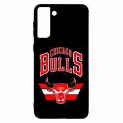 Чохол для Samsung S21 Ultra Великий логотип Chicago Bulls