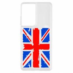 Чохол для Samsung S21 Ultra Британський прапор