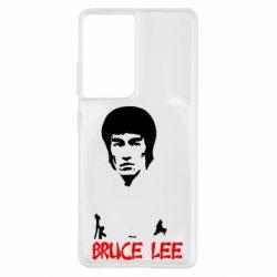 Чохол для Samsung S21 Ultra Bruce Lee