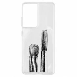 Чохол для Samsung S21 Ultra Brushes