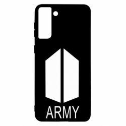 Чохол для Samsung S21 Ultra Bts army