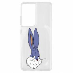Чохол для Samsung S21 Ultra Bugs Bunny Meme Face