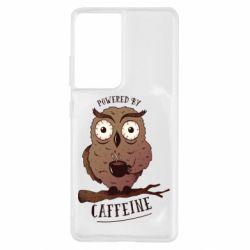 Чохол для Samsung S21 Ultra Caffeine Owl