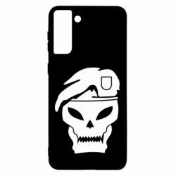 Чохол для Samsung S21 Ultra Call of Duty Black Ops logo