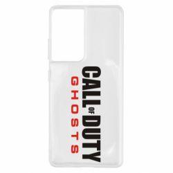 Чохол для Samsung S21 Ultra Call of Duty Ghosts логотип