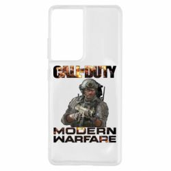 Чехол для Samsung S21 Ultra Call of Duty: Modern Warfare