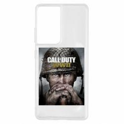 Чохол для Samsung S21 Ultra Call of Duty WW2 poster