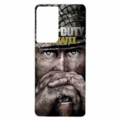 Чехол для Samsung S21 Ultra Call of Duty WWII