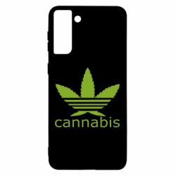 Чохол для Samsung S21 Ultra Cannabis
