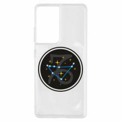 Чохол для Samsung S21 Ultra Capricorn constellation