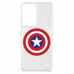 Чехол для Samsung S21 Ultra Captain America