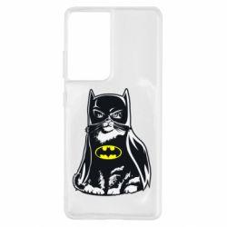 Чохол для Samsung S21 Ultra Cat Batman