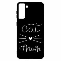 Чохол для Samsung S21 Ultra Cat mom