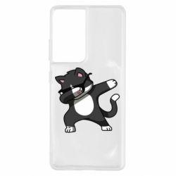Чохол для Samsung S21 Ultra Cat SWAG
