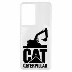 Чохол для Samsung S21 Ultra Caterpillar cat