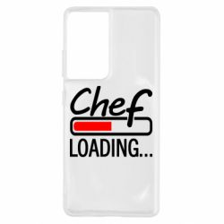 Чехол для Samsung S21 Ultra Chef loading