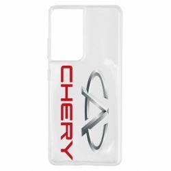 Чехол для Samsung S21 Ultra Chery Logo