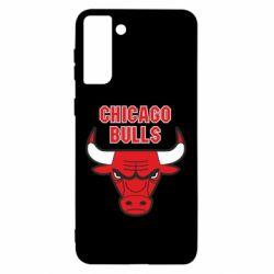 Чохол для Samsung S21 Ultra Chicago Bulls vol.2