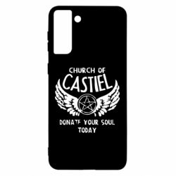 Чохол для Samsung S21 Ultra Church of Castel