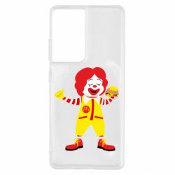 Чохол для Samsung S21 Ultra Clown McDonald's